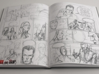 Rough sketches for pages 23 and 24 of 'Rage from the South'