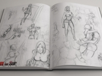 Rough sketches for page 26 of 'Rage from the South'